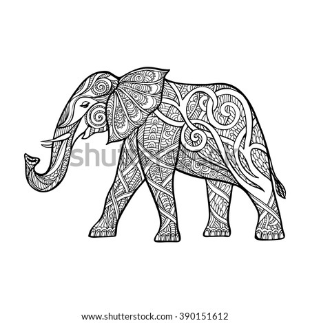 Elephant Stock Vector 318447821