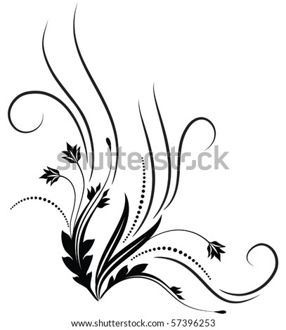 Decorative ornament for various design artwork - stock vector