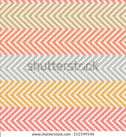 Decorative rural pattern in pastel colors. Pale seamless countryside background - stock vector