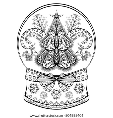 Mistletoe Coloring Pages For Adults Coloring Pages