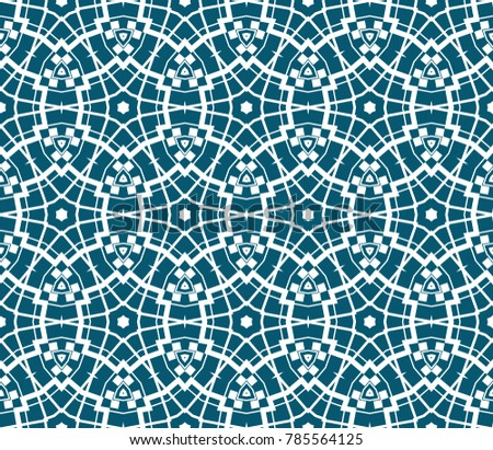 Decorative Wallpaper Design In ShapeVector Abstract Background