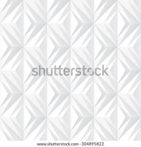 Decorative white texture - seamless vector pattern. - stock vector