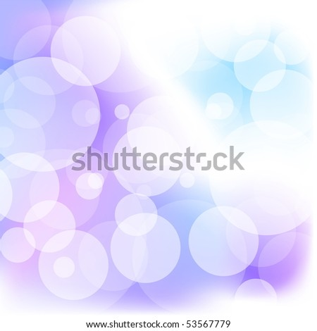 Defocused lights background. Vector Illustration. EPS10 - stock vector