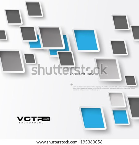 Deformed Square Plate Background