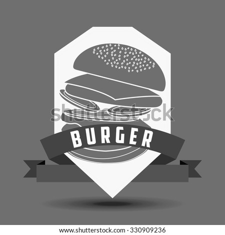 delicious fast food design, vector illustration eps10 graphic