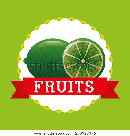 delicious fruit design, vector illustration eps10 graphic