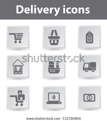 Delivery,Buy and sale,icons,vector