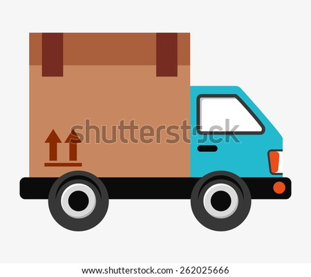 delivery concept design, vector illustration eps10 graphic
