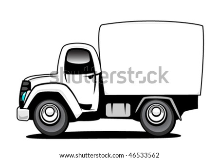 Delivery Truck - stock vector
