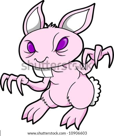 Evil Rabbit Cartoon