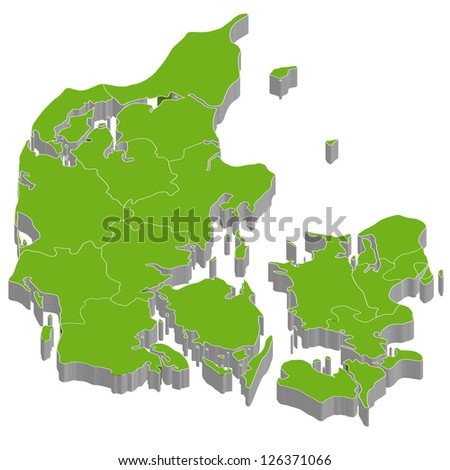 Denmark - stock vector