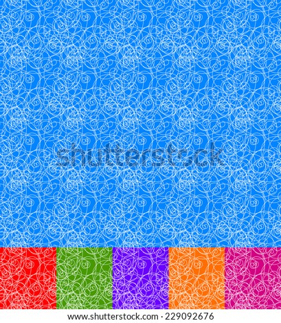 Dense, thin lines endless pattern. (make a tile a swatch, and fill any area) - stock vector