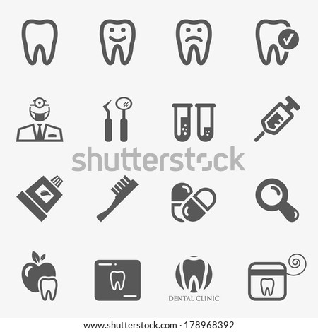Dental Icon Stock Images, Royalty-Free Images & Vectors | Shutterstock