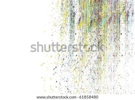 desaturated vector grunge background - stock vector
