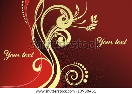 Design background - stock vector