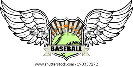 design baseball ball , vector illustration