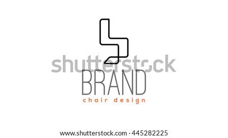 Design Chair Vector Logo Template Stock Vector (Royalty Free ...