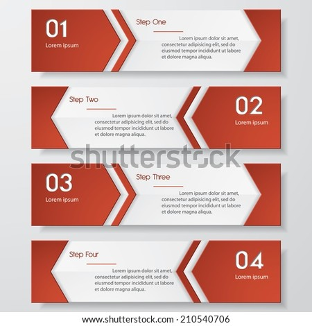 Design clean template/graphic or website layout. Vector.