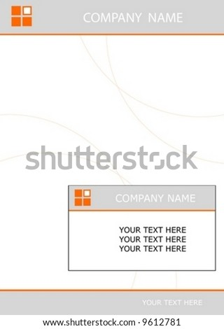 design corporate logo vector tag letter layout editable card abstract background - stock vector