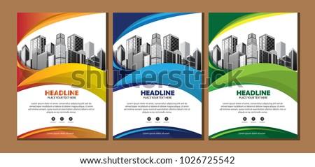 book brochure template