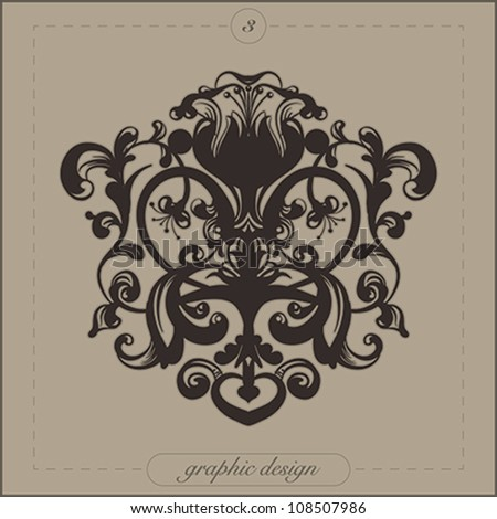 Design element for decorations | Vector illustration.