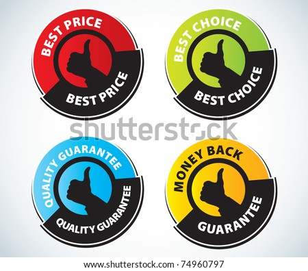 Design elements for sale - stock vector