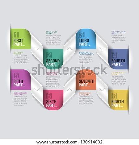Design elements. Fully editable vector. - stock vector