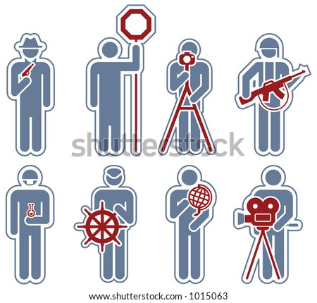 "Design Elements p.29c ""Man at work"" is a vector file format for general use. Simply change any colors as you like. I hope you enjoy. - stock vector"