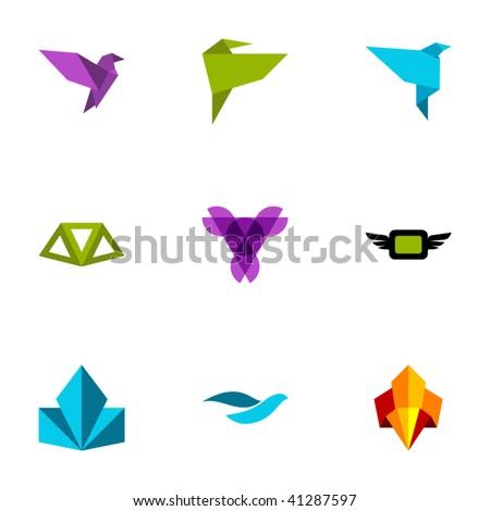 Design elements - Set 91 - stock vector