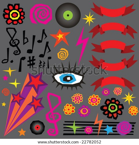 Design Elements (vector). In the gallery also available XXL jpeg image made from this vector