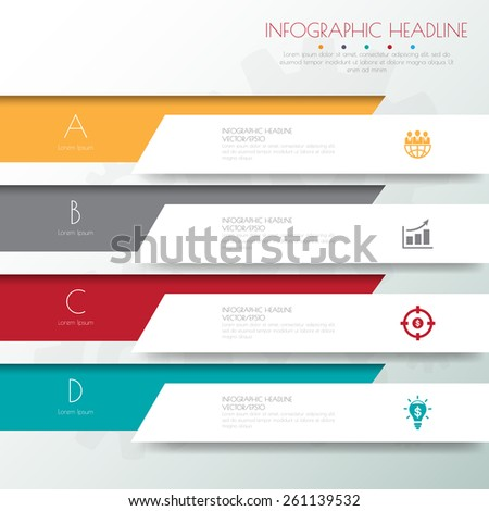Design flat shadow template banners /graphic or website .Vector/illustration. - stock vector