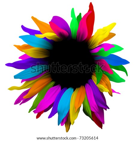 Design flower abstract element. - stock vector