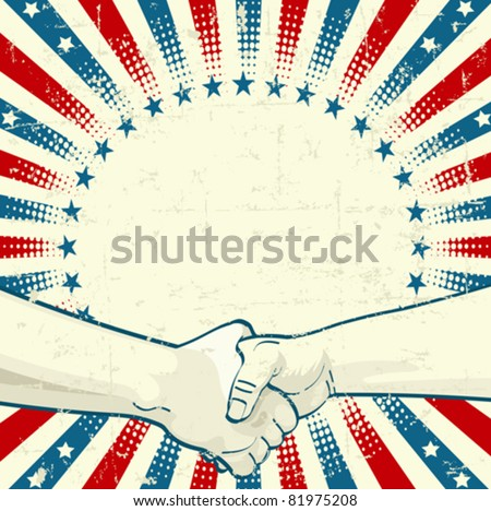 Design for Labor Day with worker?s hands