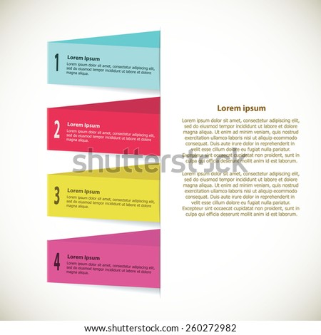 Design Layout  Modern Theme  EPS10 Vector. - stock vector