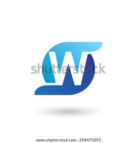 template letter ...W Logo Images
