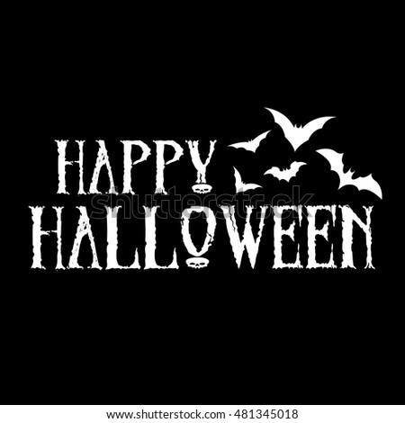 design happy halloween message vector eps stock photo photo vector