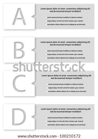 Design template vector - stock vector