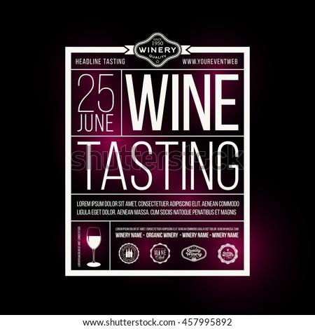 Wine tasting business plans