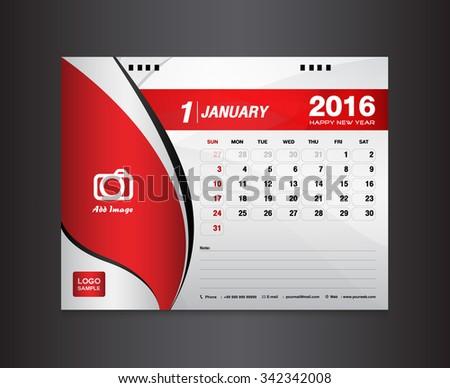 desk calendar template vector design template stock vector royalty