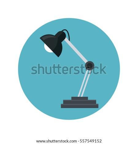 Desk Lamp Icon Illustration 236955898 Shutterstock – Desk Lamp Logo