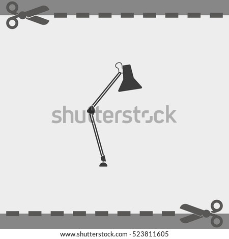 icon lighting. Interesting Lighting Desk Lamp Icon Lighting Illustration With Icon
