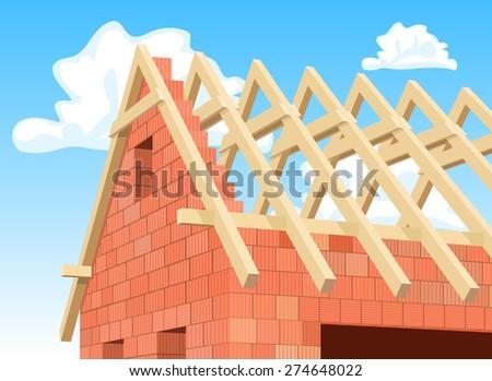 Rafters Stock Vectors & Vector Clip Art | Shutterstock