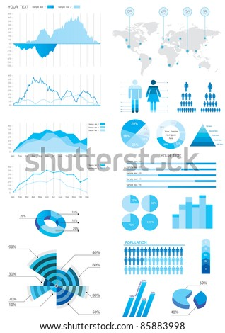 detail info-graphicvector illustration - stock vector