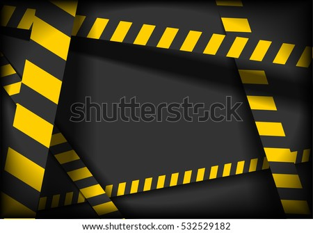 detailed illustration of a industrial danger lines background, eps10 vector