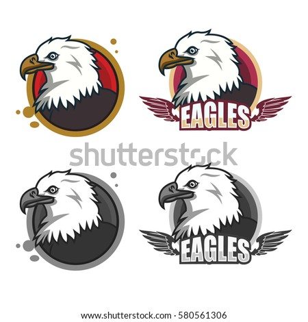 Plain hand drawn eagle vector Vector  Free Download