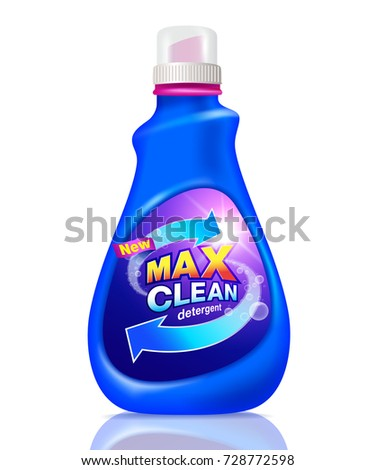 Detergent cleaning design pack detergent product templates stock detergent product for templates advertising by print media vector pronofoot35fo Choice Image
