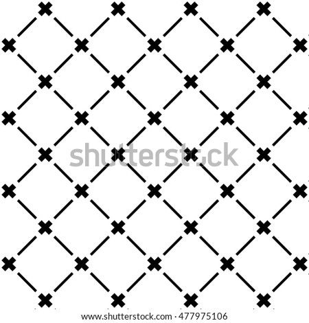 Diagonal lines and cross patten background.