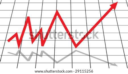 Diagram - stock vector
