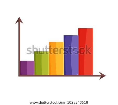Diagram colorful arrows parts graphic different stock vector diagram colorful with arrows parts of graphic of different colors and pointer with direction ccuart Images