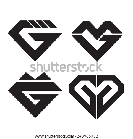 set letter y sign logo icon stock vector 360276302. Black Bedroom Furniture Sets. Home Design Ideas